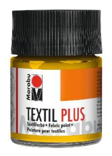 MARABU Textilfarbe Plus mittelgelb 1715 05 021 50ml