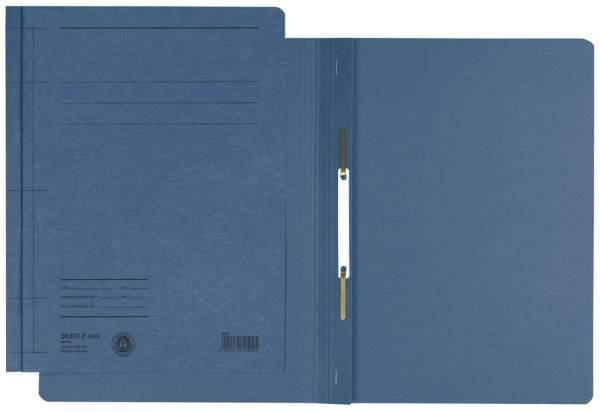 LEITZ Schnellhefter A5 hoch blau 30050035 Colorkarton