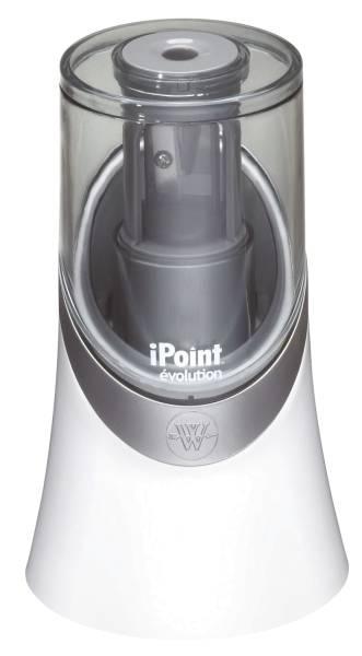Spitzmaschine iPoint Evolution batteriebetrieben, für Ø bis 8 mm, weiß