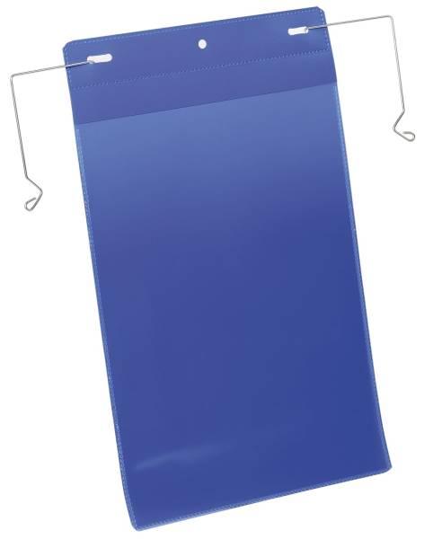DURABLE Sichttasche 50ST dunkelblau 1753 07 A4hoch