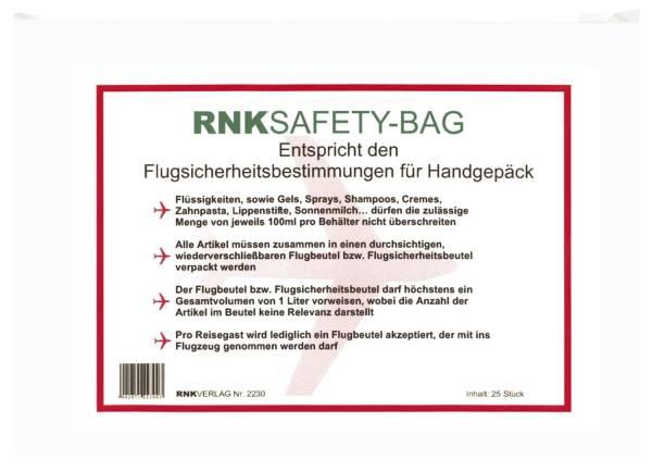 RNK Kleinkrambeutel transp. 2230 250x170mm