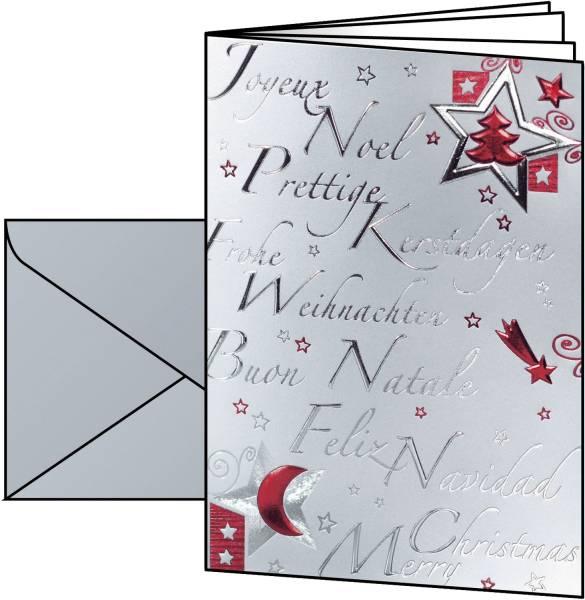 Weihn Design Karte A6 10+10