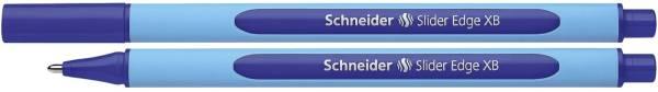 Kugelschreiber Slider Edge Kappenmodell, XB, blau