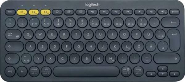LOGITECH Tastatur K380 Wireless schwarz 920-007566