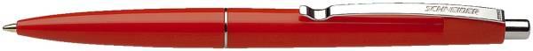 Kugelschreiber Office Druckmechanik, M, rot, Farbe des Schaftes: rot