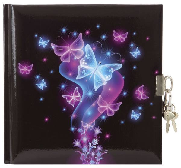 GOLDBUCH Tagebuch Schmetterling 44577 16,5x16,5cm
