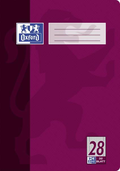Heft A4 32 Blatt Lineatur 28