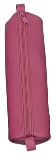 Schlamper Rolle, aus Leder, rosa