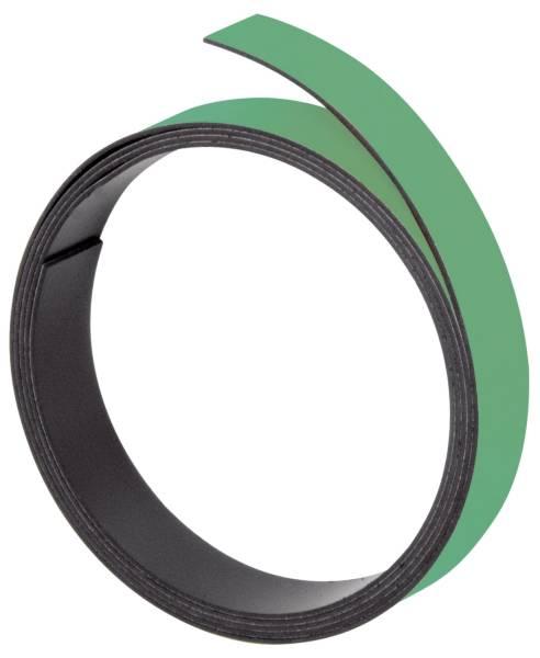 FRANKEN Magnetband 1m x 5mm grün M801 02