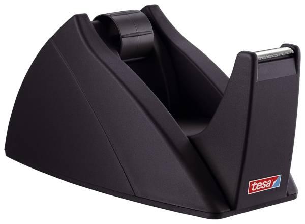 Tischabroller für Klebefilm tesa Easy Cut, 33 m x 19 mm, schwarz Abroller®