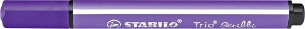 STABILO Fasermaler Trio Scribbi violett 368/955