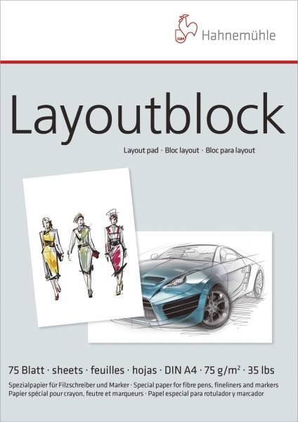 HAHNEMÜHLE Layoutblock A4 75BL 75g 10625040