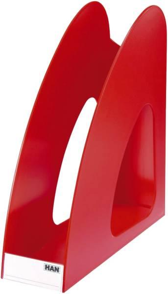 Stehsammler TWIN DIN A4 C4, rot