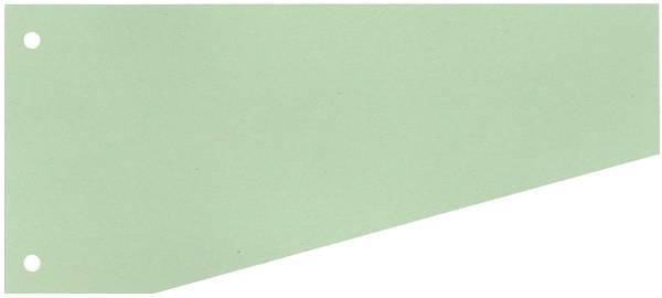 Trennstreifen Trapez 190 g qm Karton, grün, 100 Stück