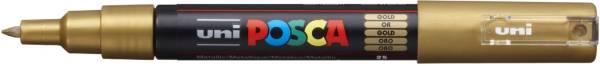 UNI-POSCA Pigmentmarker gold 186781 PC1MC