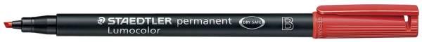 Feinschreiber Universalstift Lumocolor permanent, B, rot®