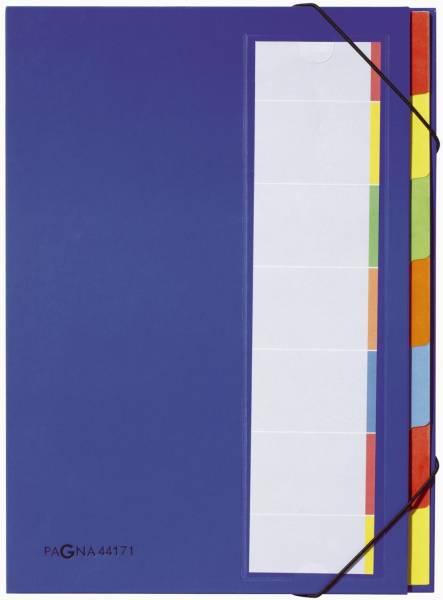 Deskorganizer mit 7 Fächern, blau