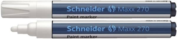 SCHNEIDER Lackmalstift Maxx 270 weiß 127049 1-3mm