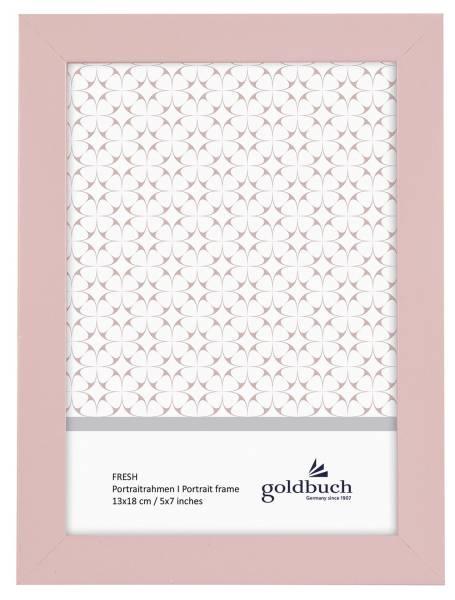 GOLDBUCH Bilderrahmen Fresh rosa 930363 f.13x18cm