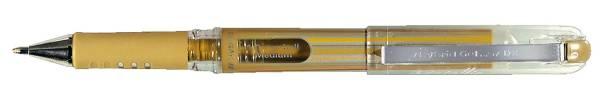 PENTEL Gelschreiber Hybrid met. gold K230-XO Grip DX