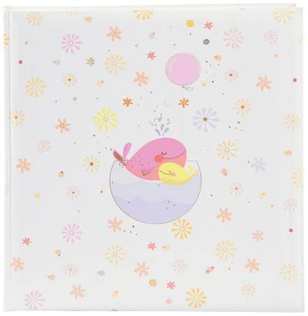 Fotoalbum Baby Little Whale 30 x 31 cm, rosa