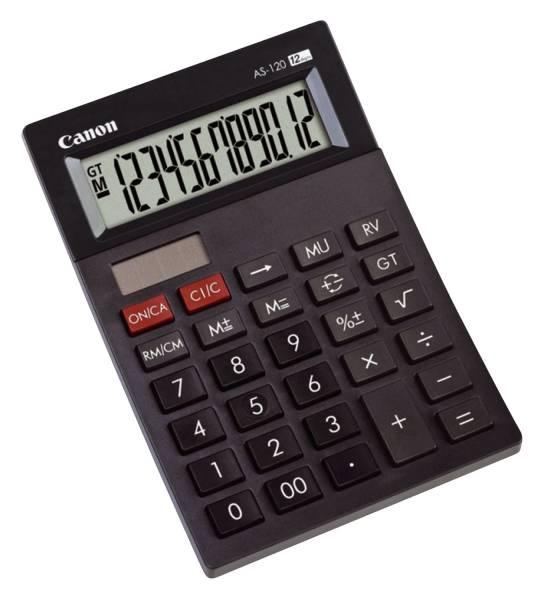 Tischrechner mini AS 120 12stellig schwarz