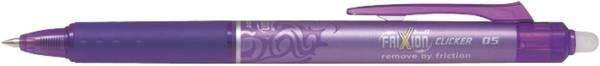 Tintenroller FriXion Clicker 0,3 mm, violett