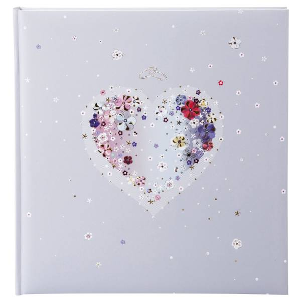 TURNOWSKY Fotoalbum Hochzeit Hearts of Flowers 08 164 31x30cm