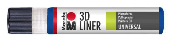 MARABU 3D Liner 25ml mittelblau 1803 09 652