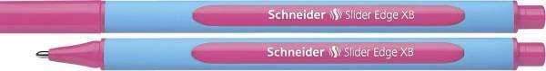 Kugelschreiber Slider Edge Kappenmodell, XB, pink