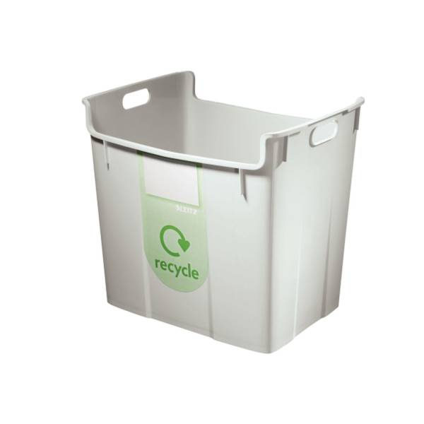 Papierkorb 40 Liter grau