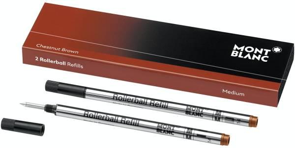 MONT BLANC Tintenrollermine M braun 106930