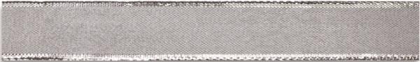 Zierband mit Draht Luxury silber, 40 mm x 20 m