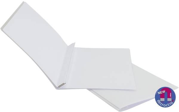 BIELLA Aktenumschlag magnet. weiß 0165430.01 25 Blatt
