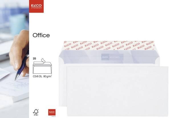 ELCO Briefhülle 229x114 HK weiss 74462.12 Offs. 80 25St