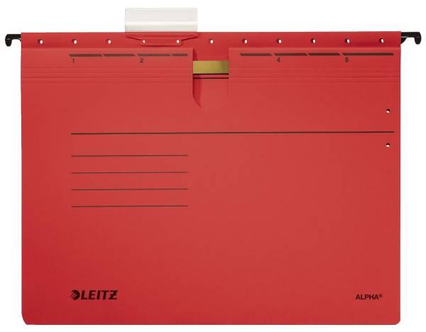 LEITZ Hängehefter Alpha rot 1984-00-25 Karton 250g