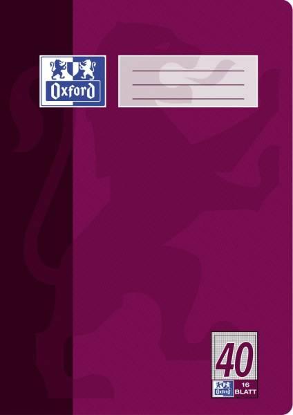 Heft A4 16 Blatt Lineatur 40