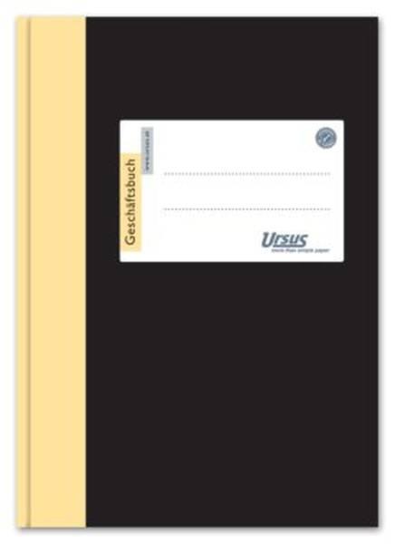 URSUS Geschäftsbuch A6 96BL kariert 608391