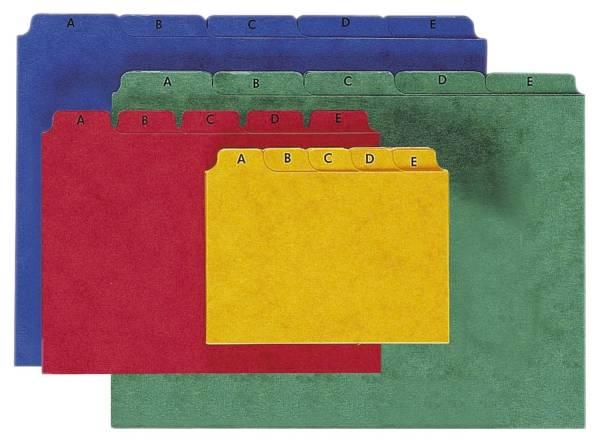 PAGNA Leitregister A6 gelb Pressspan 26251-05