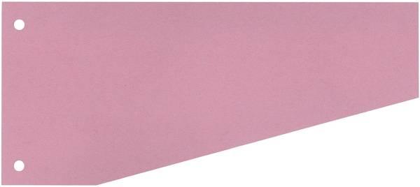Trennstreifen Trapez 190 g qm Karton, rot, 100 Stück