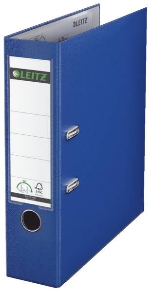 LEITZ Ordner Plastik A4 8cm nachtblau 1010-50-68 180° Mechanik