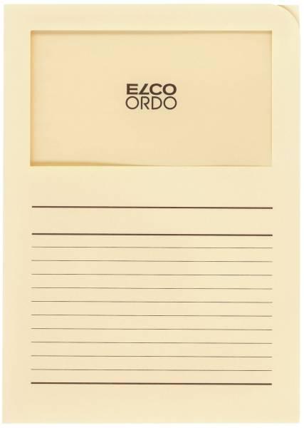 ELCO Sichtmappe Ordo A4 120g 100ST h-chamois 29489.41 Classico Papier