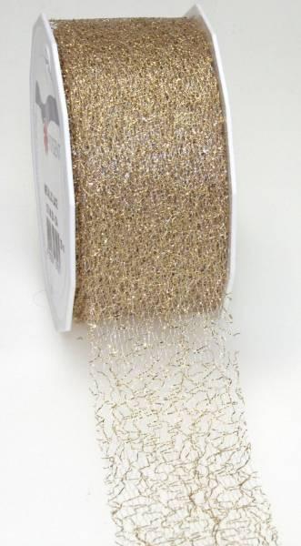 Zierband 72 mm x 20 m, gold