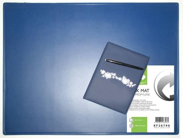 Q-CONNECT Schreibunterlage 63x50cm blau KF26797 PP