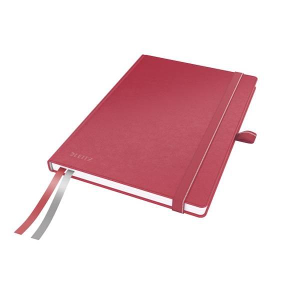 LEITZ Notizbuch A5 Complete rot 4477-00-25 kariert