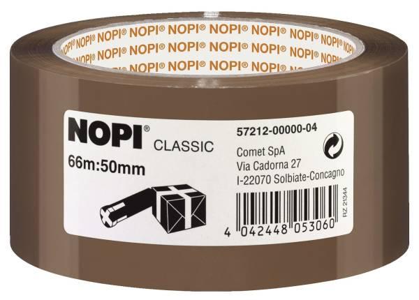 Verpackungsklebeband Classic, 50 mm x 66 m, braun