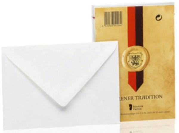 RÖSSLER Briefhülle C6 SF 25ST weiß L. 20310402