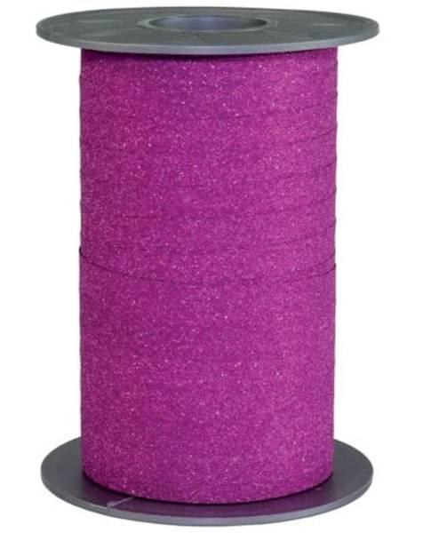 Ringelband Glitter pink 85 09-616 10 mm 100 m