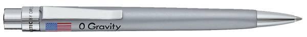 Kugelschreiber Spacetec O Gravity silber