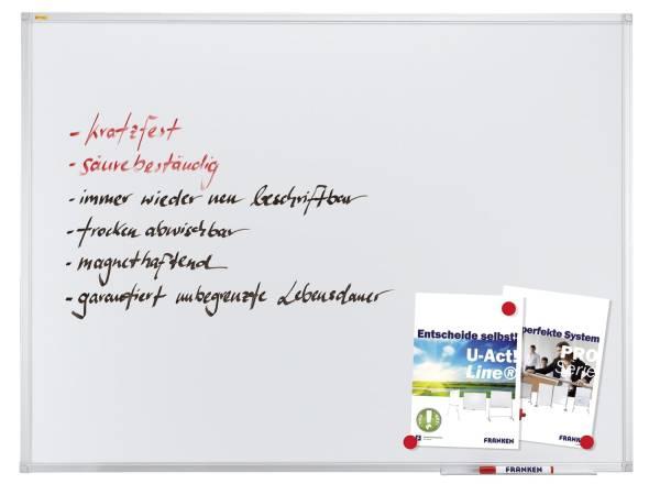 FRANKEN Schreibtafel 200x100cm SC3204 X-tra!Line